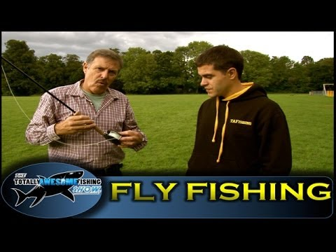 How to fly fish for Trout - Totally Awesome Fishing Show