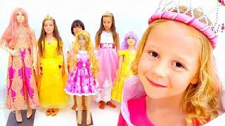 تقضي ناستيا وصديقاتها حفلة ممتعة في البيت, انشطة للاطفال