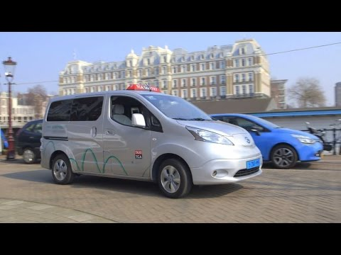 Hail the Electric: Amsterdam's EV Taxis