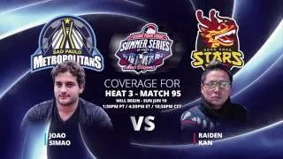 GPL Summer Series - Raiden Kan vs. Joao Simao - Live from The Cube - W11M95