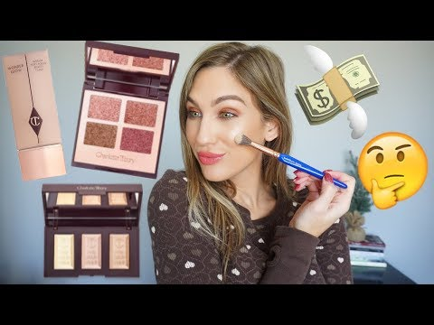 CHARLOTTE TILBURY TRY ON HAUL + FIRST THOUGHTS