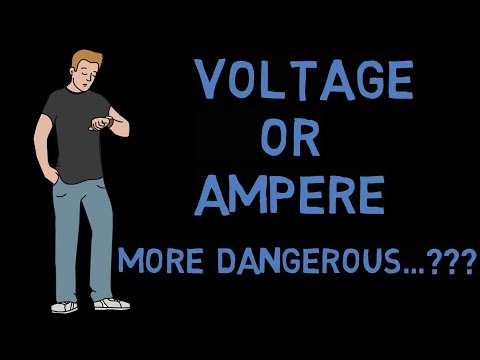 (HINDI) Which one  is more dangerous ||Voltage or Ampere||