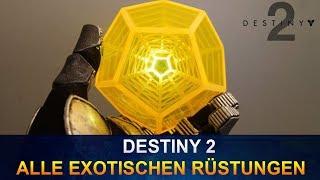 Destiny 2 Alle Exotischen Rüstungen (German/Deutsch)