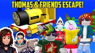 THOMAS AND FRIENDS ROBLOX ESCAPE OBBY!
