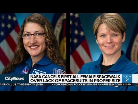 NASA cancels first all-female spacewalk