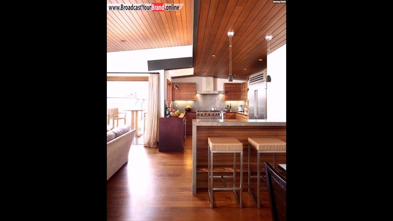 Wohnzimmer Holzdecke - Design