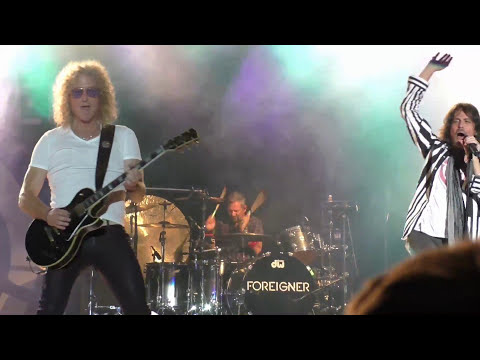 Foreigner at The Great Frederick Fair- Sept 23rd 2016
