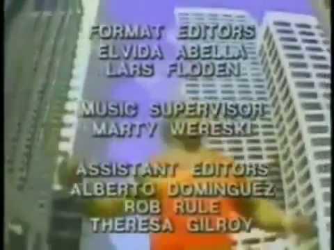 CBS Saturday Morning Credits August 1986