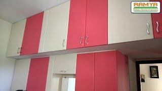 Smooth Matte Finish Pink & White For Ramya Modular Kitchen,  Mr Karthik Porur Tollgate