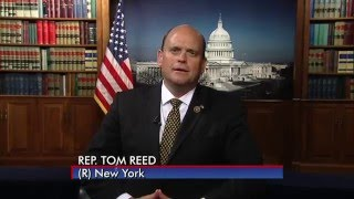 Rep. Tom Reed Supports the Huntington's Disease Parity Act