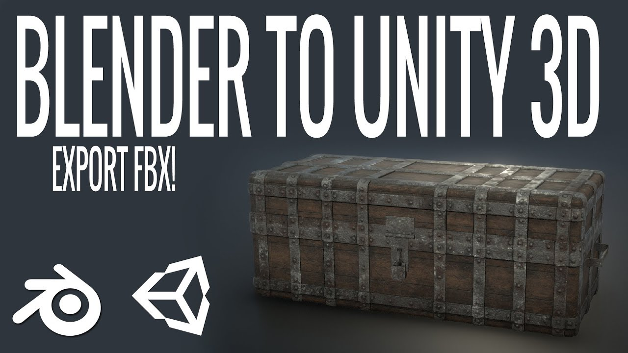 Blender to Unity: Export FBX to Unity (Part 2)