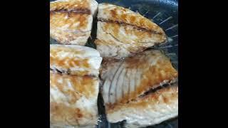 겉바속촉 노릇하게 고등어 생선 굽는법