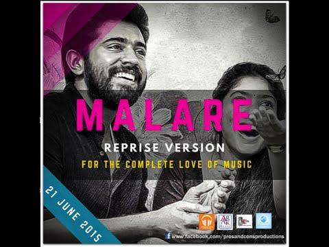 Malare - Reprise Version Malayalam Movie Premam