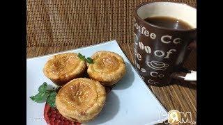 Pasteis de nata пирожные с заварным кремом