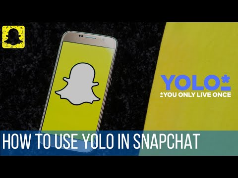How To Use Yolo In Snapchat