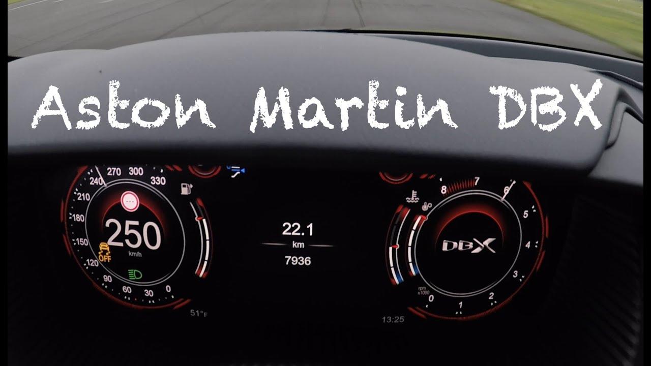 0 250 Km H Aston Martin Dbx Acceleration Youtube
