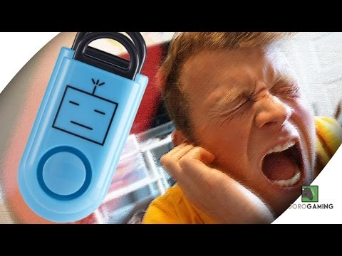 This Little Thing Does WHAT?! - Sound Grenade/Robocopp Review - Self Defense/Animal Repellent