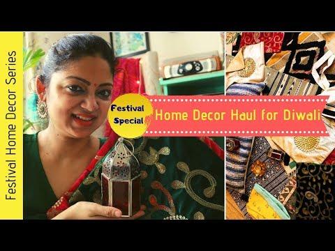 Huge Home Decor Haul | Best market for Diwali | Diwali shopping 2019