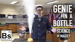 Genie in a Bottle Trick - Science or Magic?