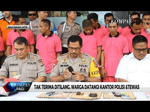Tak Terima Ditilang, Warga Datangi Kantor Polisi & Tewas