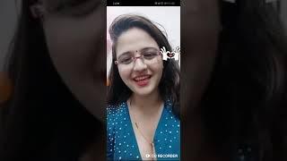Indian girl in bigo live | hot cleavage | boob show