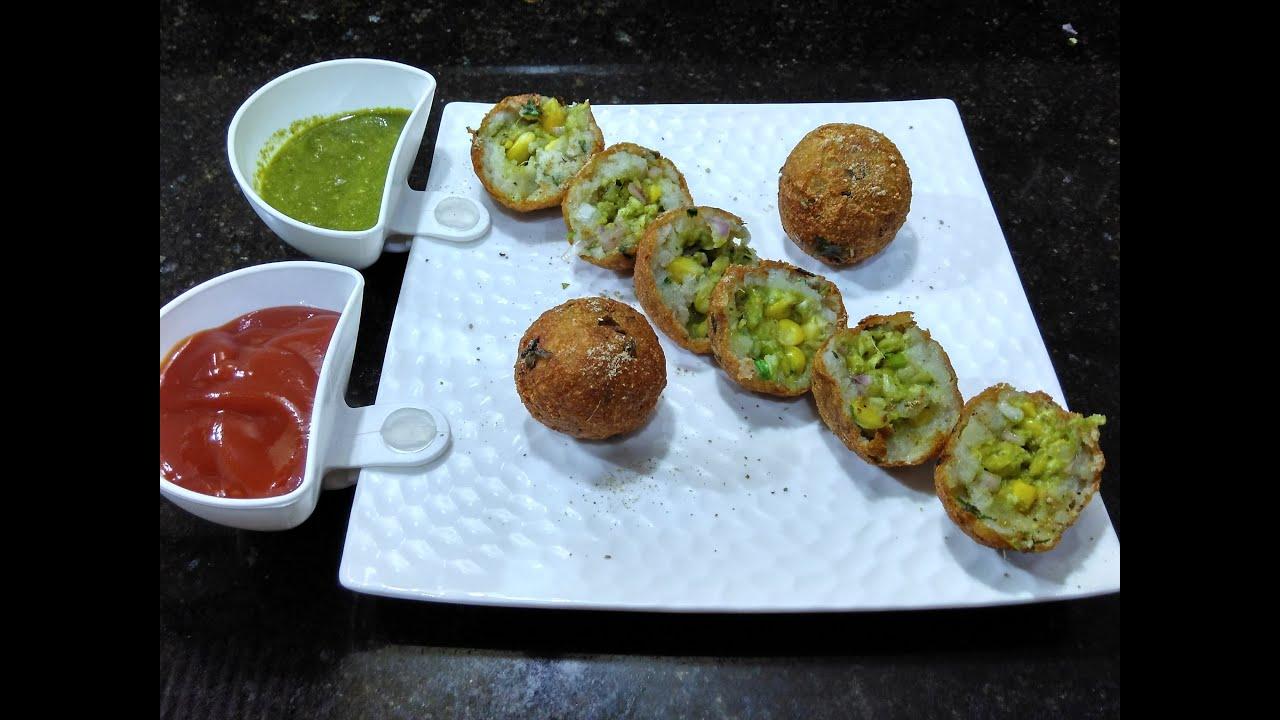 Corn cheesy potato bombs snacks recipe party snacks easy for Quick snacks to make with potatoes