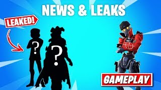 "More *LEAKED* Skins! & Unreleased ""Revolt"" skin Gameplay! - Fortnite News (Dragon and Dumpling Skin)"