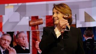 Rep. Nancy Pelosi Eats Ice Cream For Breakfast