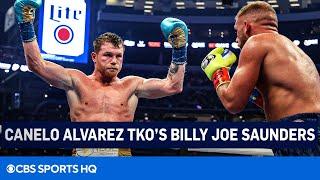 Canelo Alvarez TKO's Billy Joe Saunders | Canelo vs Saunders FULL Recap | CBS Sports HQ