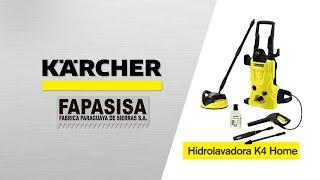 Hidrolavadora línea hogar K4 Home - Kärcher FAPASISA Paraguay