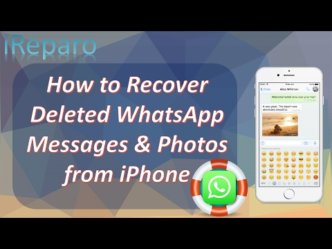 how to find deleted messages on iphone 2017 amp easy ways to recover deleted whatsapp 20046