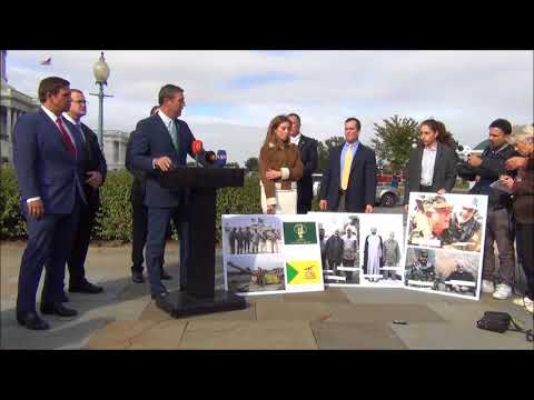 Press Conference Calling on Congress to Support the Kurds