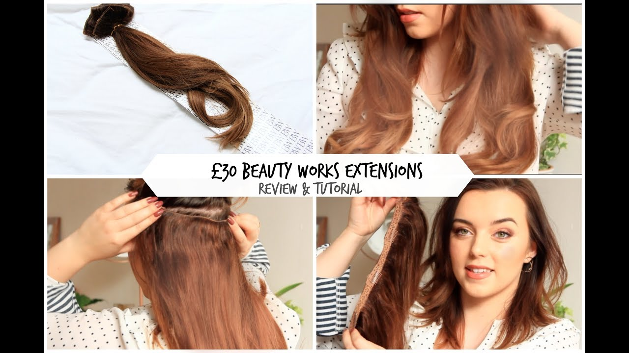 Beauty Works Hair Extensions How To Review Youtube