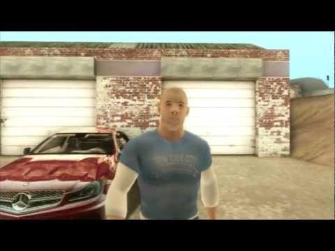 Amg Black Series >> GTA SA :: Vin Diesel & Mercedes Benz C63 AMG C204 Black Series [2011] - YouTube