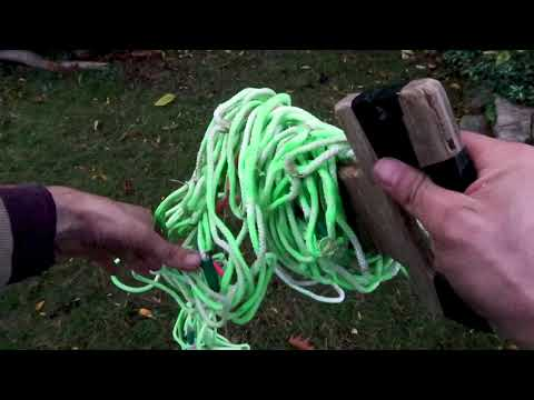 How-to Make Glow In The Dark Cargo Net Tutorial thumbnail