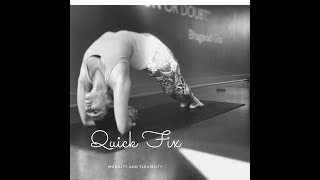 Quick Fix - Glutes and Lower Back