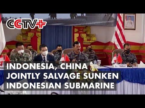 Indonesia, China Make Progress in Salvaging Sunken Indonesian Submarine