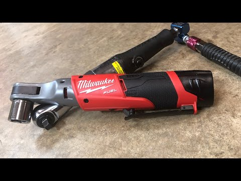 """Milwaukee 3/8""""  M12 FUEL Ratchet - Worth Upgrading From AIR?"""
