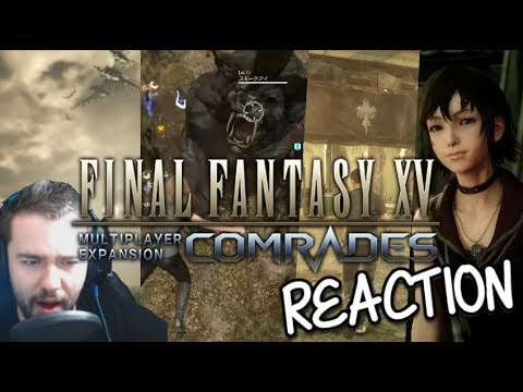 Final Fantasy XV Multiplayer Expansion DLC Trailer Reaction: Uematsu strikes again!