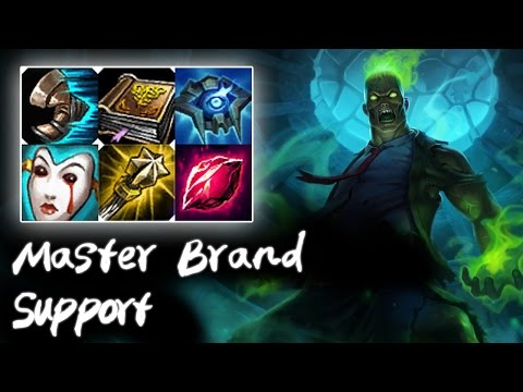 Master Brand Support v.s Maokai | How to support | Korea High Elo