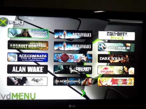 xkey dvd menu