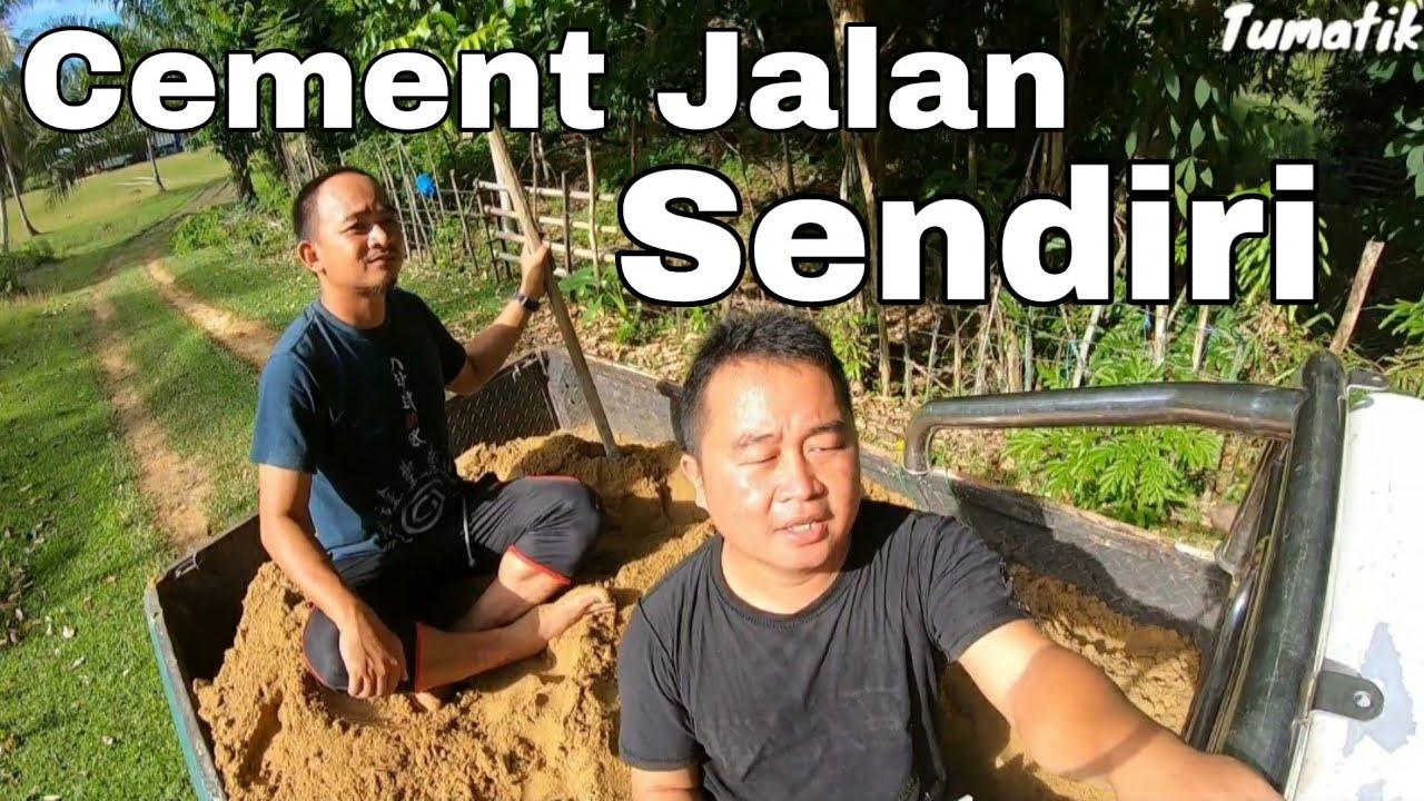 Pembangunan Tidak Sampai. Gamer Dan Orang Kampung Cement Jalan Sendiri