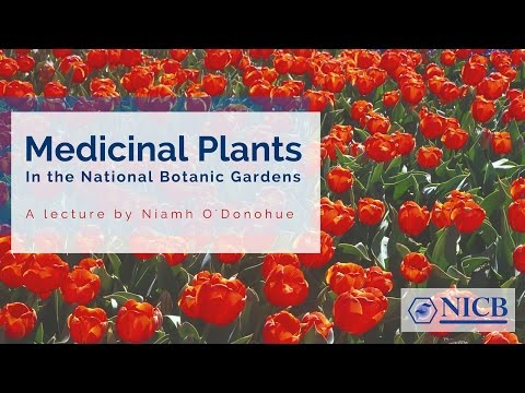 Biomedical Lecture: Medicinal Plants in the National Botanic Gardens
