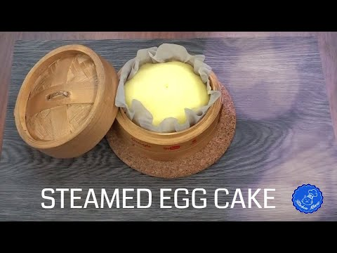 Traditional Steamed Egg Cake