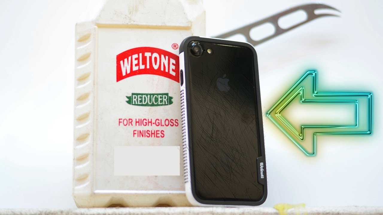 best authentic fe7a1 47b2c Jet Black iPhone 7 Scratch Fix!