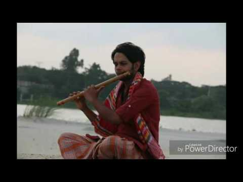 Amai eto rate keno dak dili ..flute covered by Selim Reza