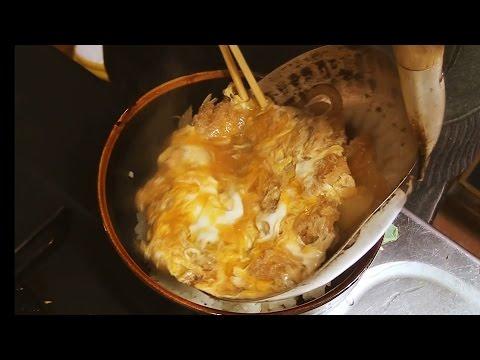めっちゃ美味しいカツ丼の作り方! How to make a Katsudon!