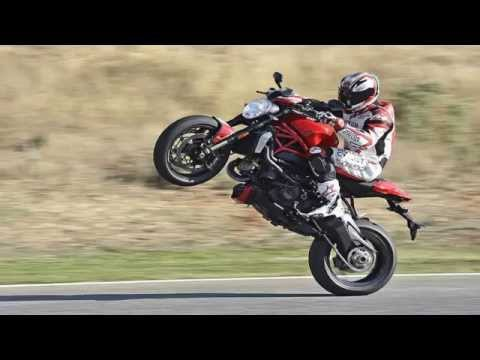 2016 Ducati Monster 1200r A Realy Monster At Speed Youtube