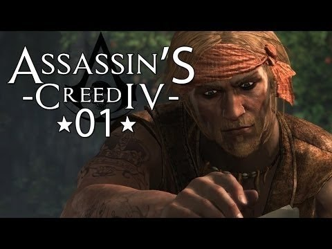 Assassin's Creed IV Black Flag Let's Play #01  