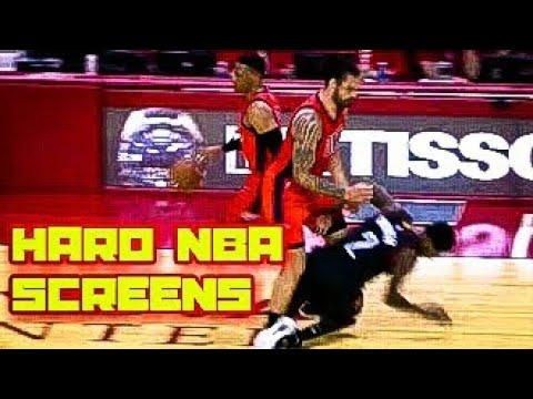 HARD NBA SCREENS COMPILATION